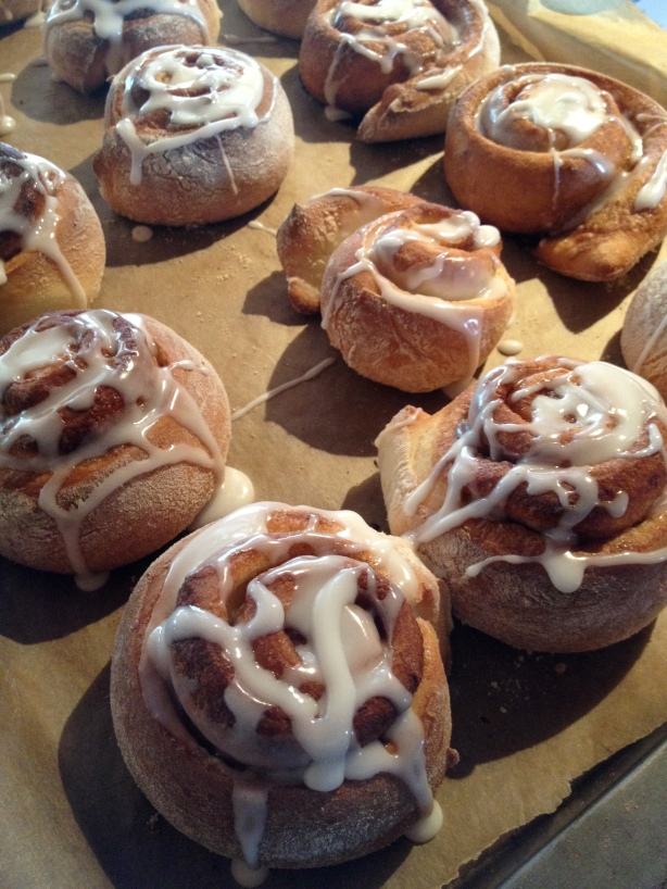 cinnamon buns / batch-22